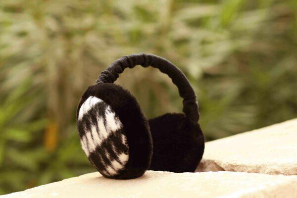 אוזניות מחממות משובצות