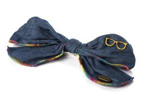סיכה פפיון ג'ינס משקפים