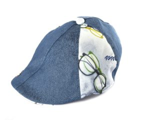 כובע קסקט גינס בשילוב טקסטורות