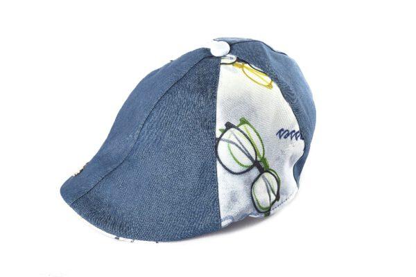BH19-1-3 כובע קסקט ג'ינס
