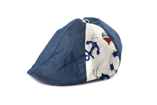 BH19-1-4 -כובע קסקט ג'ינס