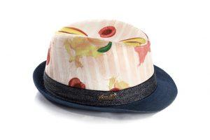 כובע גינס בשילוב טקסטורות