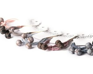 גומיות לשיער עיגולים הדפס