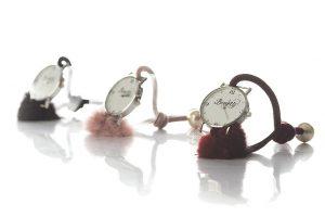 שעון פונפון חרוזים
