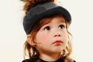 כובע קסקט בנים+פונפון