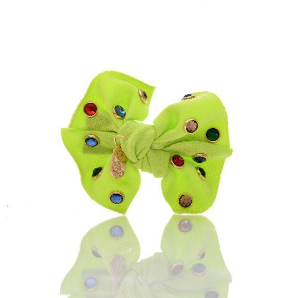 סרט תינוקות פפיון אבנים צבעוניות
