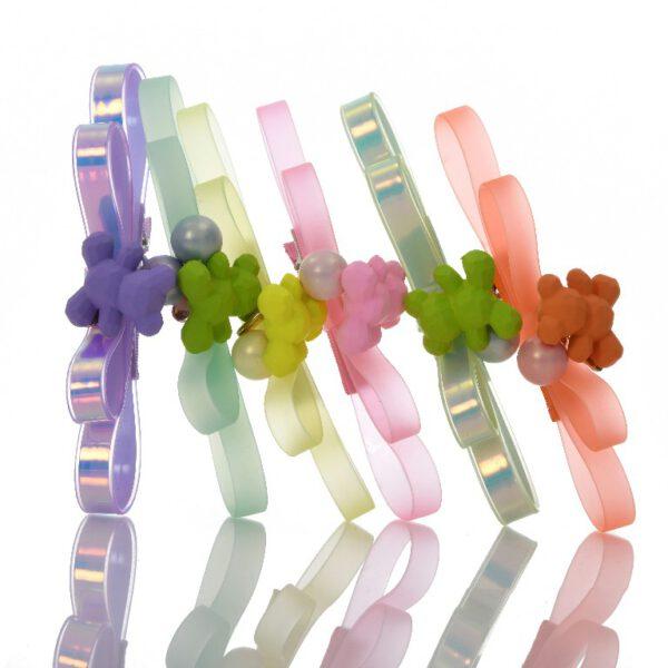 סיכה קומות PVC עם דובי