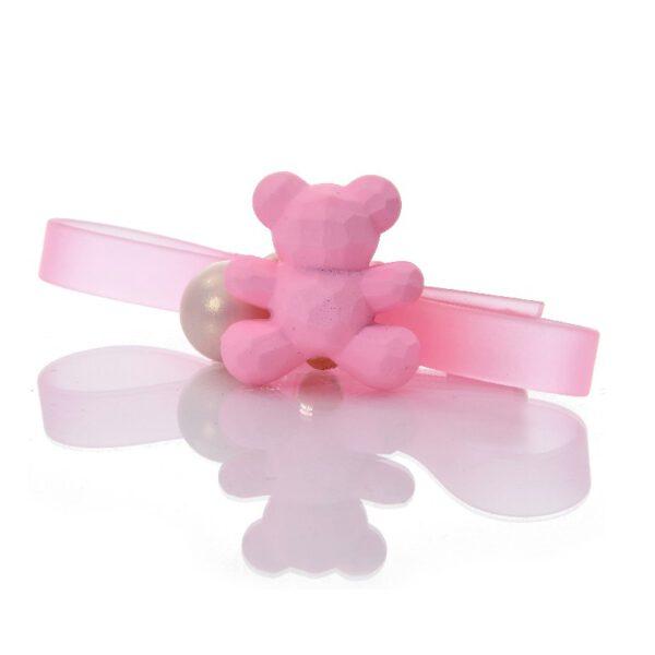 סיכה מיני קומות PVC עם דובי