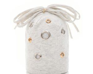 כובע תינוק רינג כסף זהב
