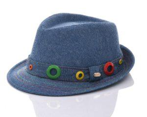 כובע בנים ג'ינס רינג צבעוני
