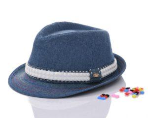 כובע בנים ג'ינס לגו